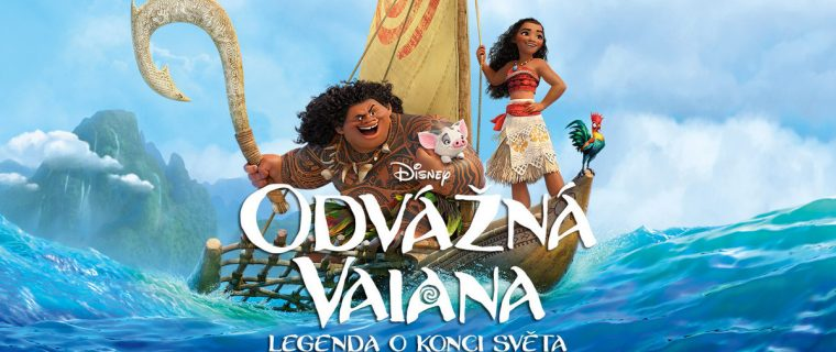Odvážná Vaiana: Legenda o konci světa / Moana (2016)(CZ/EN)[720pHD]